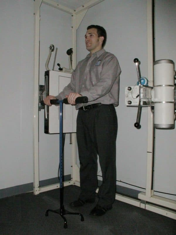 The Adjustable X-ray Hand Stand